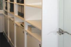 Büroschränke - beschichtete Spanplatte
