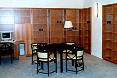 Bücherregale Bibliothek - Birnbaum