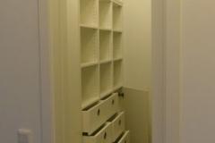 Ankleidezimmer - weiß lackiert