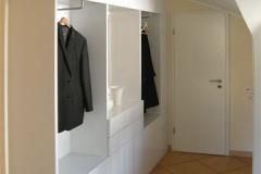 Garderobe - MDF lackiert