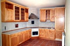 Einbauküche - Erle natur