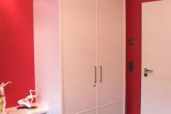 Regal mit Sideboard und Schrank - Außenflächen lackiert, innen Buchenholz