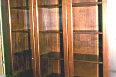 Bücherschrank - Mahagoni
