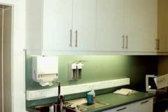 Laborzeile (Arztpraxis) - Schichtstoff