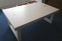Büro-Schreibtisch, Esche weiß