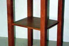 Beistelltisch (Terzianum Seniorenresidenz) - Birnbaum lackiert