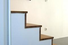 Innentür mit Treppenanlage