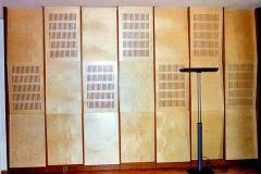 Akustikwand Dirigenten-Arbeitszimmer (Quartier Schützenstraße) - Birke